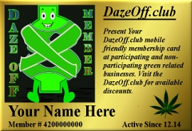 Marijuana Cannabis Discount Club