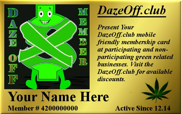 Become a Daze-Off Member Today!